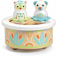 Baby White Music Box