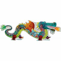Giant Floor Puzzles Leon the Dragon - 58pcs