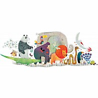 36 pc Giant Puzzle Animal Parade
