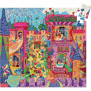 Silhouette Puzzles The Fairy Castle - 54pcs