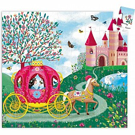 Silhouette Puzzles - Elise's Carriage - 54pcs