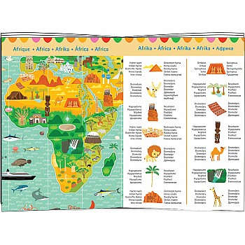 Observation Puzzles Around the World + booklet - 200pcs