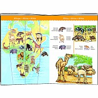Observation World Animals + Booklet