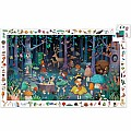 Observation Puzzles Enchanted Forest - 100pcs