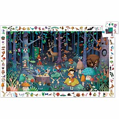 100 Pieces Observation - Enchanted Forest Puzzle