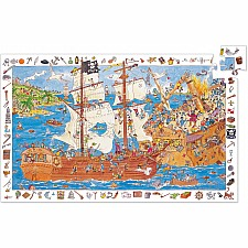 Observation Puzzles Pirates - 100pcs