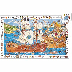 100 Pieces Observation - Pirates Puzzles