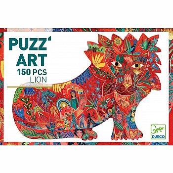 Puzz'art Lion - 150pcs