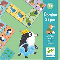 Educational Games - Domino Animals