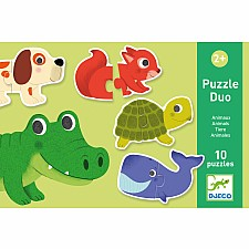 Animal Matching Duo Puzzle