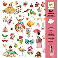 Petit Gifts - Stickers Princess Tea Party