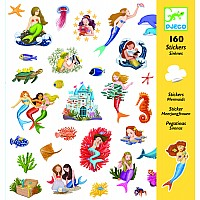 160 Mermaids Stickers