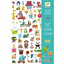 Petit Gifts - Stickers 1000 Stickers For Little Ones