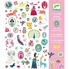 Petit Gifts - Stickers 1000 Stickers For The Girls