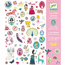 Stickers - 1000 Stickers For The Girls