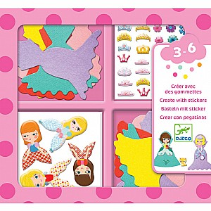 Petit Gifts - Sticker Kits I Love Princesses