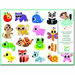 Pg Stickers Baby Animals
