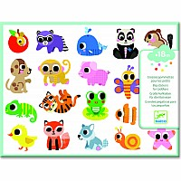 Baby Animals Stickers - 18+ months
