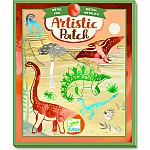 Artistic Patch Dinosaurs Metallic