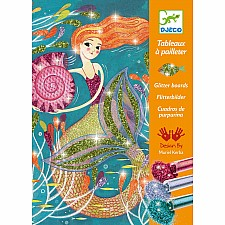 Le Grand Artist - Glitter Boards Mermaids Lights