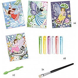 Djeco The Gentle Life Of Fairies Glitter Craft Kit