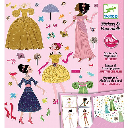 Petit Gifts - Stickers Dresses Through The Seasons