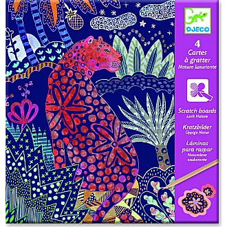 Petit Gifts -  Scratch Cards Lush Nature