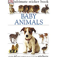 DK Baby Animals Sticker Book