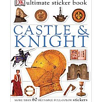 DK Castle & Knight Sticker Book