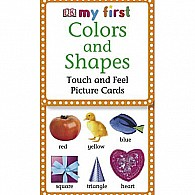 My First Touch  Feel Picture Cards: Colors  Shapes