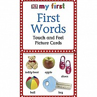 My First Touch  Feel Picture Cards: First Words