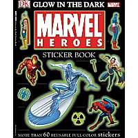 Glow-in-the-dark Marvel Heroes
