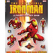 Ultimate Sticker Book: the Invincible Iron Man
