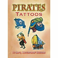 Little Activity Book: Pirates Tattoos