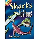 Little Activity Book: Sharks Tattoos