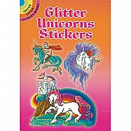 Glitter Unicorns Stickers