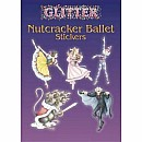 Glitter Nutcracker Ballet Stickers