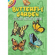 Butterfly Garden Sticker Activity Book