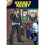 Secret Agent Sticker Activity