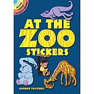 At the Zoo Stickers