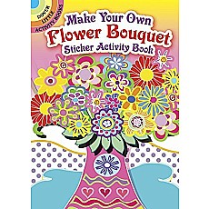 Make Your Own Flower Bouquet Sticker Activity Book