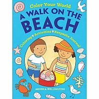 Color Your World: A Walk on the Beach: Coloring, Activities & Keepsake Journal