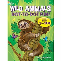 Wild Animals Dot-to-Dot Fun!: Count from 1 to 101