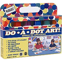 DAD: Dot-Art Markers 6-pk Rainbow [Washable]