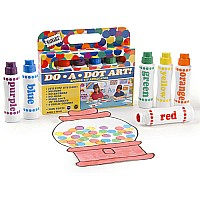 "Dot-Art Markers (6-pk) ""Rainbow"" [Washable]"