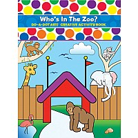 Do A Dot Zoo Animal Coloring Book