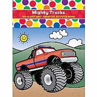 Do A Dot Mighty Trucks Coloring Book