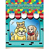 Puppies & Kittens Coloring & Activity Book
