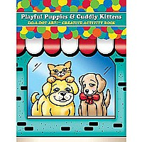 DO-A-DOT ART PLAYFUL PUPPIES & CUDDLY KITTENS DO (Set of 3)