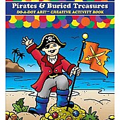 DO-A-DOT ART PIRATES & BURIED TREASURES DO-A-DOT